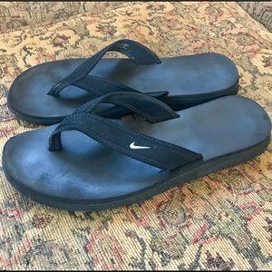 Nike Black Thong Sandals